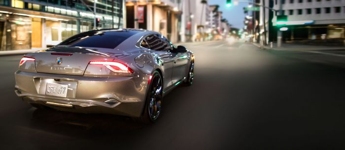 The new Karma Revero, available in USA