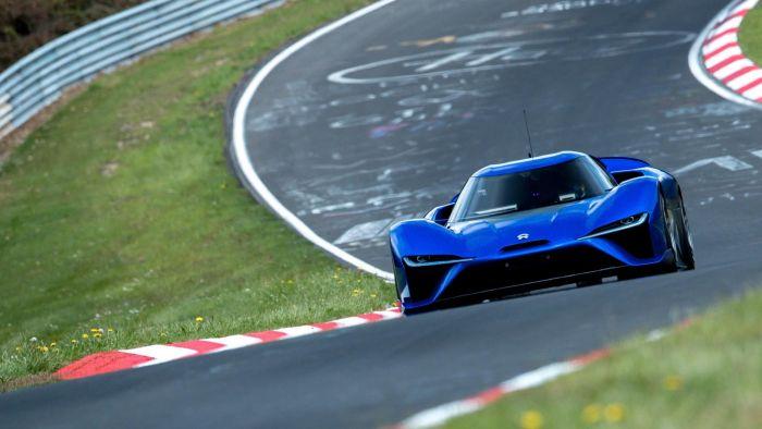 NIO eléctrico, el coche más rápido del Nürburgring