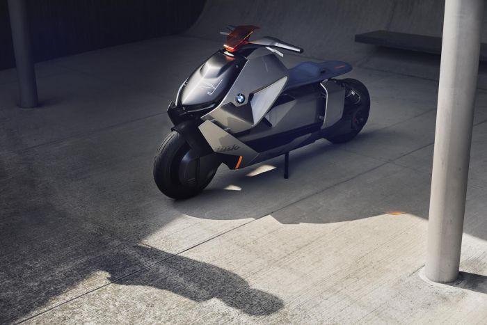 BMW Motorrad Concept Link - visión eléctrica