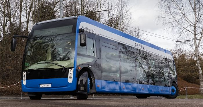 Alstom presents with Aptis a new city transport concept