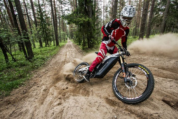 Neematic FR/1, bici off road extremo