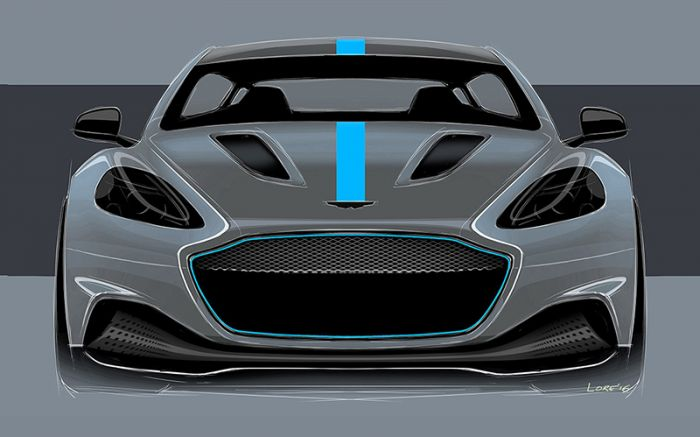 Aston Martin fully electric car for 2019