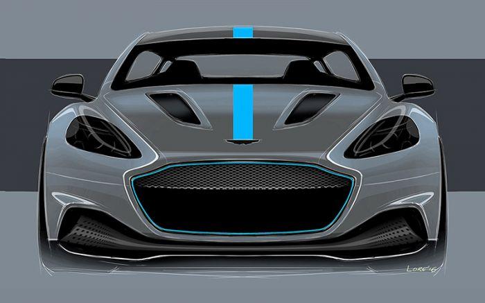 Aston Martin RapidE llegará en 2019