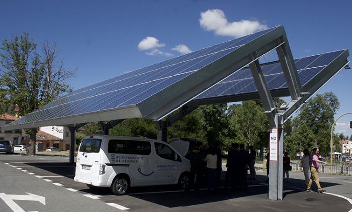 La primera electrolinera sostenible de España