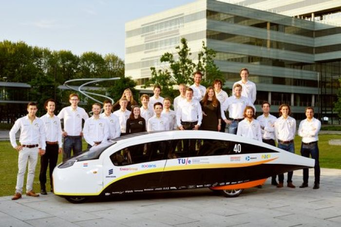 Stella Vie, the electric solar car