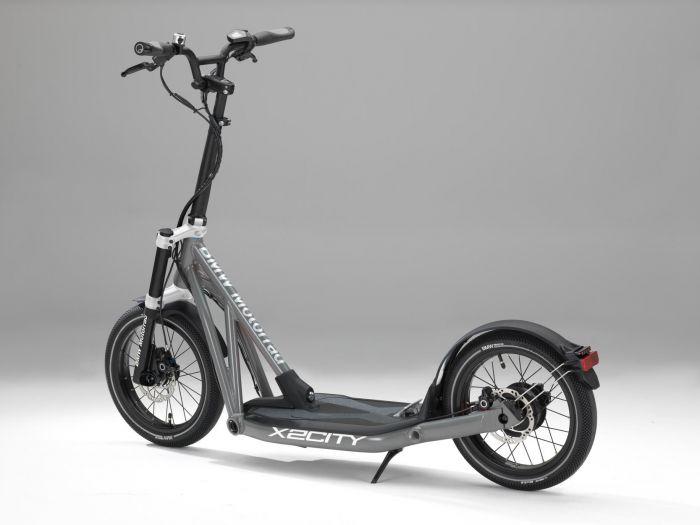 BMW Motorrad presenta X2City patinete eléctrico
