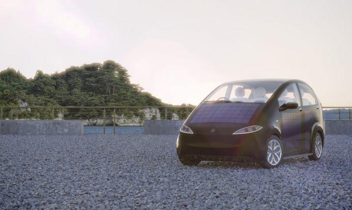 Otro coche solar - El Sono se presentará en Suiza