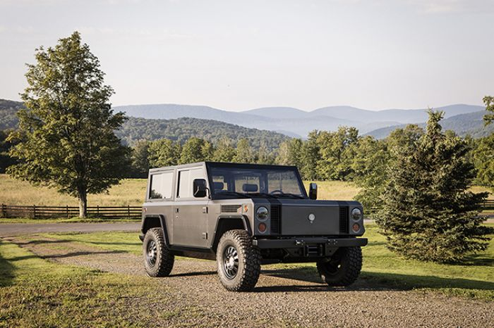 Bollinger revealed all electric sport utility truck