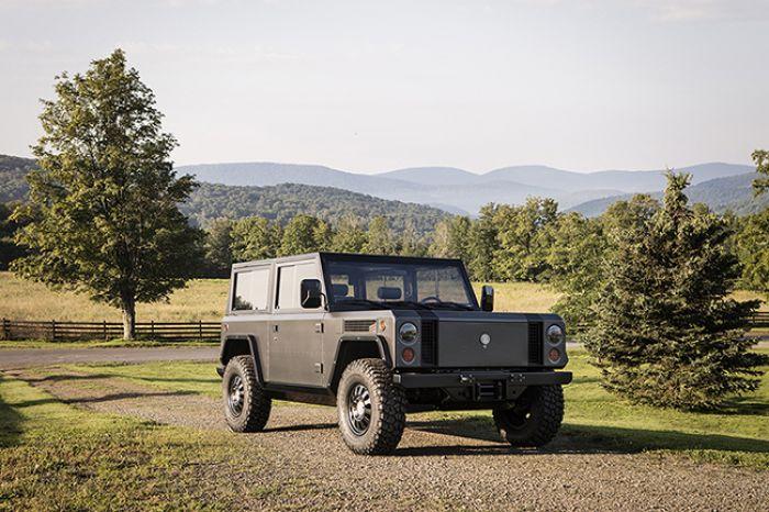 Bollinger revela su camioneta 4x4 eléctrica