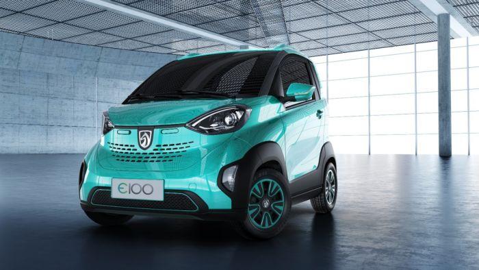 Baojun E100, el smart eléctrico chino