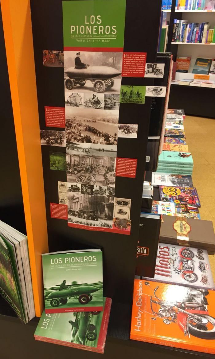 Libro LOS PIONEROS en Libreria Cervantes Oviedo