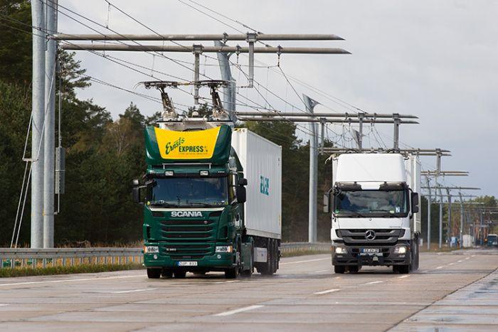 Siemens monta autopistas electrificadas en Alemania