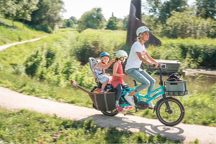 Tern presents ebike for the whole familiy