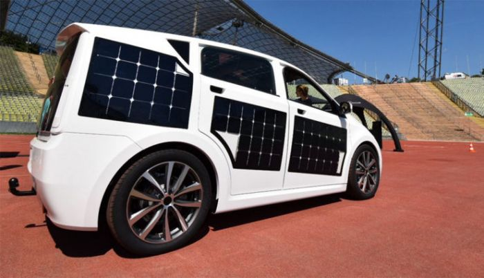 Solar-electric car from Sono Motors