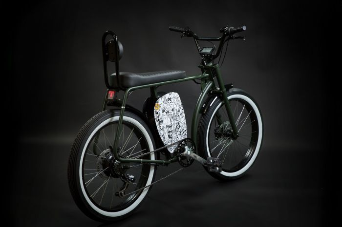 CrosS - new electric bike from Otocycles