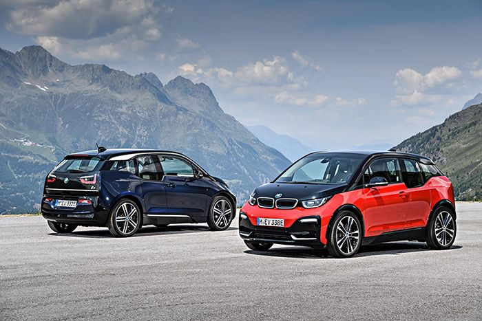 BMW presents new i3 and i3S
