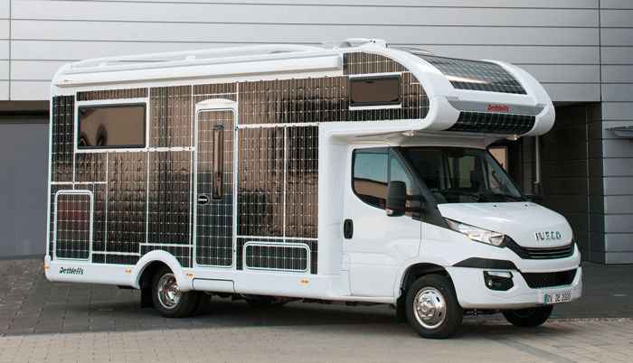 Dethleffs e.home, the electric motorhome