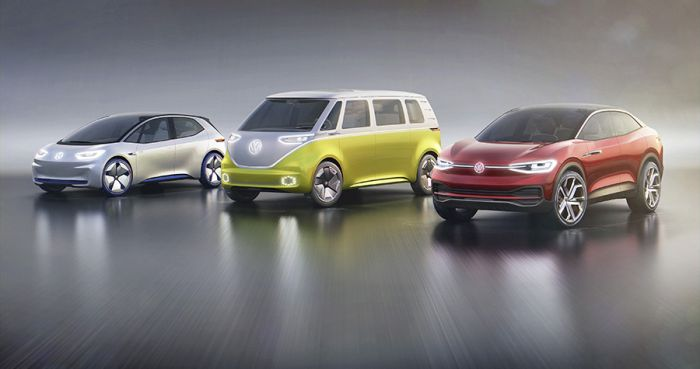 Volkswagen I.D.Crozz, fully electric