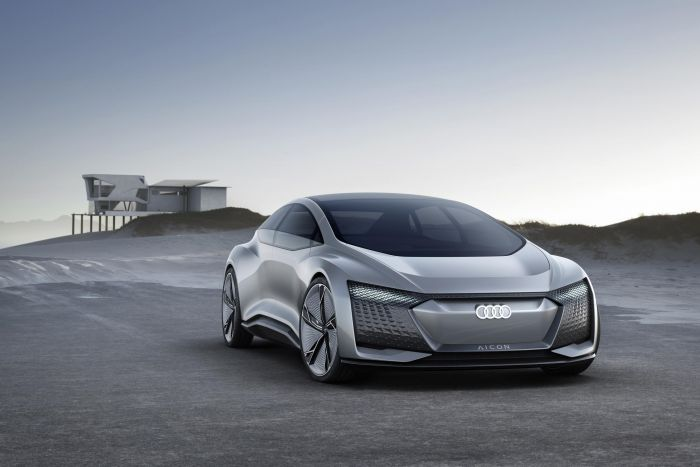 NO PEDALS, NO STEERING WHEEL– THE AUDI AICON CONCEPT CAR