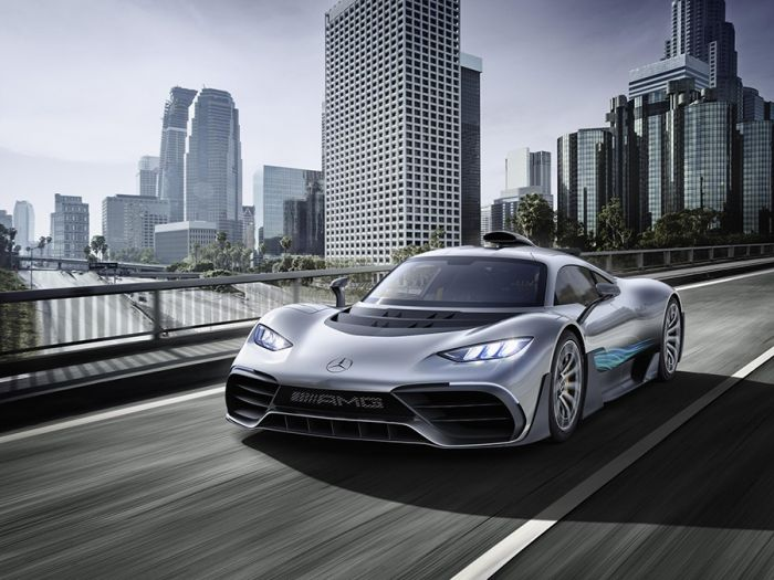 Mercedes-AMG Project One Híbrido
