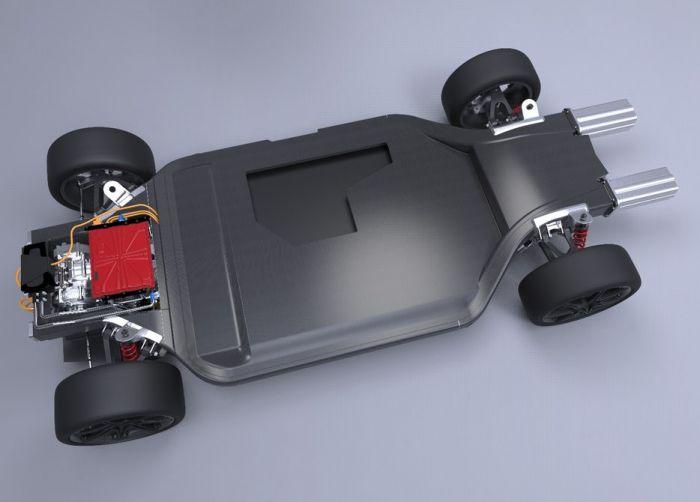 Lightweight EV platform from Williams