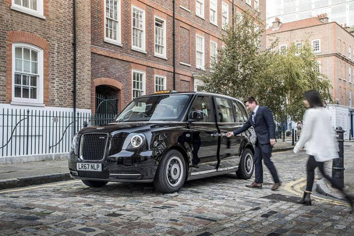 The most advanced electric taxis for London