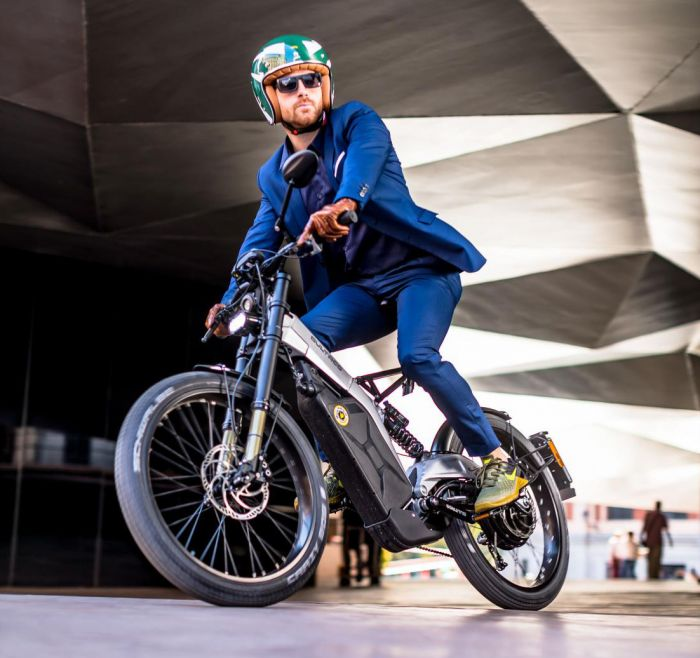 New Bultaco Albero electric