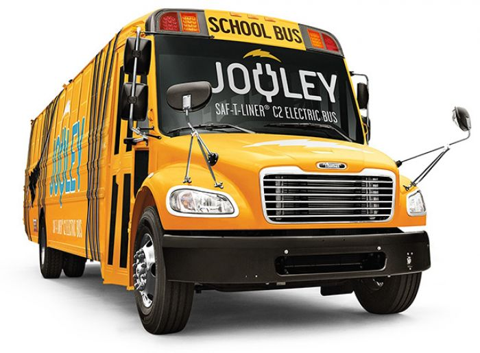 Daimler introduce all electric school bus in America