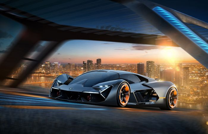 Lamborghini creates an electric super sport car