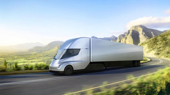 Tesla presents electric truck and - surprise, a new Roadster