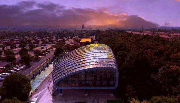 Tellus Power Megacentro de recarga solar en Shanghai