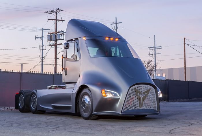 Thor unveiled their fully electric truck
