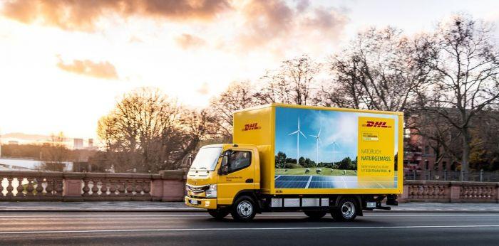 DHL Freight prueba camiones eléctricos - Elektrofahrzeuge bei DHL