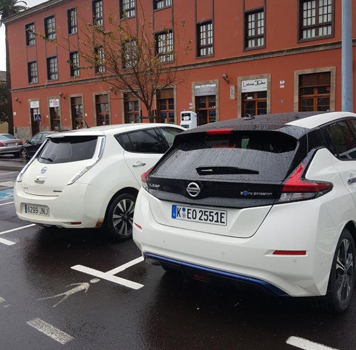 Nissan promueve los VE en Tenerife