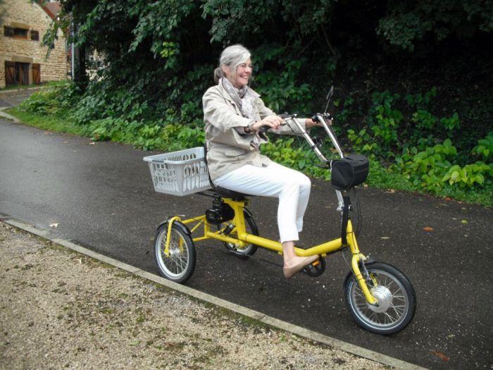 Triciclos eléctricos con sorprendente suspensión