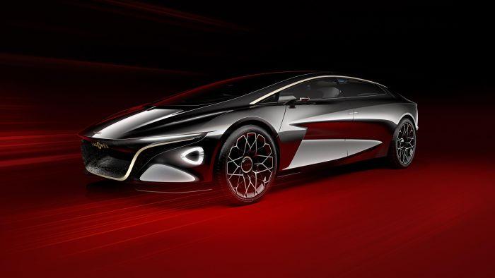 Lagonda Vision Concept - una nueva manera de moviliidad de lujo