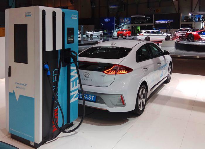 EVTEC, recarga rápida sin cables refrigerados