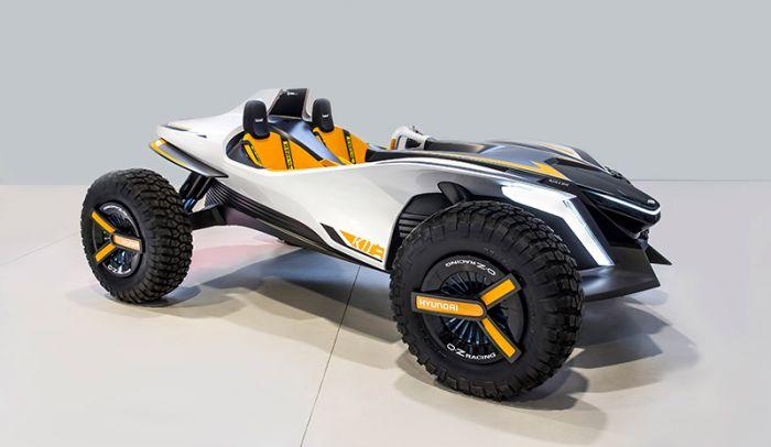Hyundai Kite - un buggy eléctrico