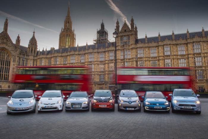 Crecimiento de venta de EV