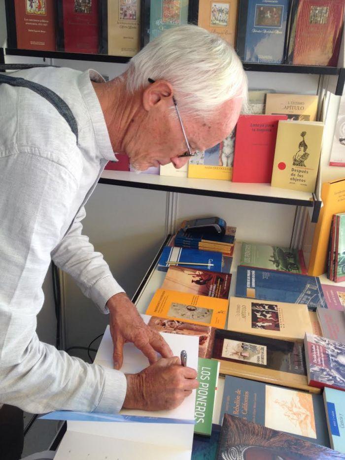 Firma de libros en Madrid