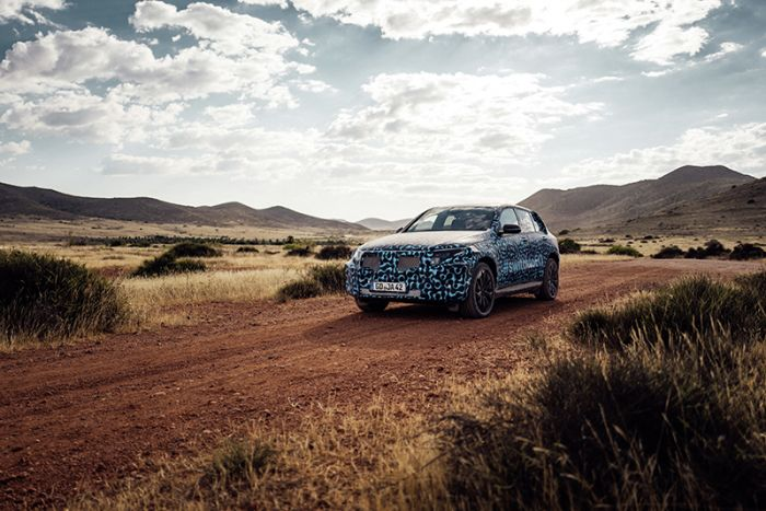 Mercedes-Benz EQC test drive in Spain