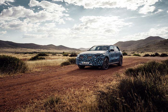 Pruebas del Mercedes-Benz eléctrico en España