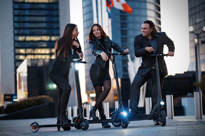 Zeeclo patinetes electricos, una alternativa muy sostenible