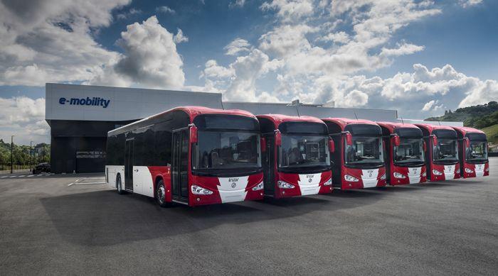 El Irizar ie bus eléctrico para Luxemburgo