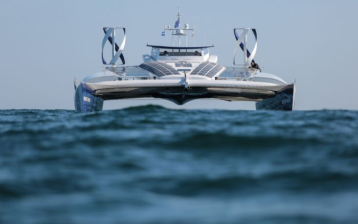 Energy Observer, primer barco energéticamente autónomo