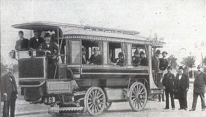 Autobuses eléctricos: primicias ya en 1898/1899