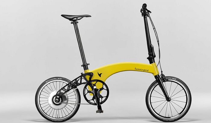Hummingbird launches worlds lightest electric folding bike