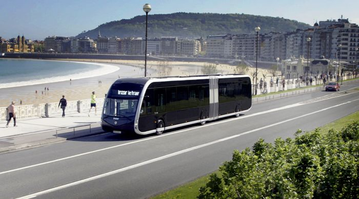 Spanish Irizar signed contract for 15 more Ie Tram for France