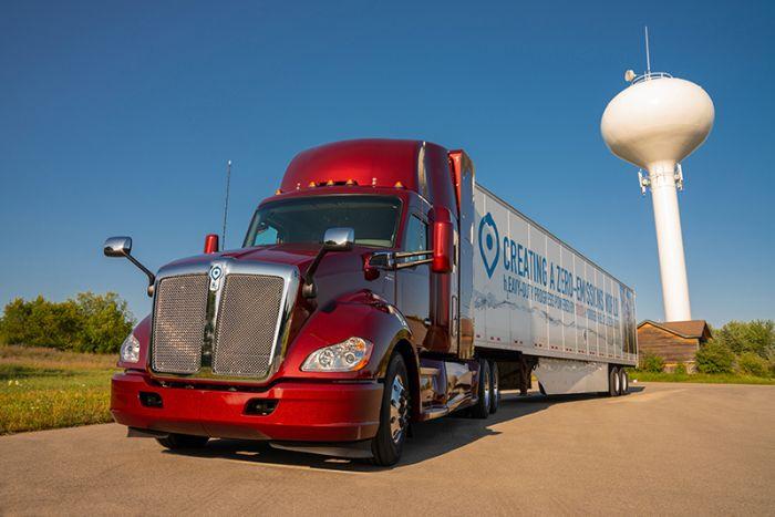 El camión de hidrógeno de Toyota