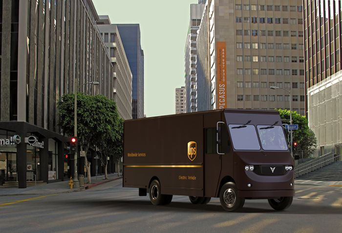 Thor Electric Trucks and UPS - working together